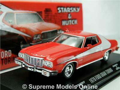 Starsky & Hutch Ford Gran Torino Model Car 1:43 Scale And Greenlight 86442 K8 • 36.99£
