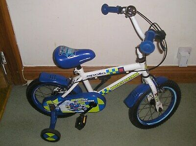 Apollo Police Patrol Child's Bike With Stabilisers • 5.49£