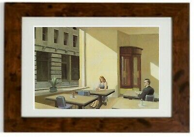 £19.99 • Buy Sunlight In A Cafeteria Framed Print By Edward Hopper