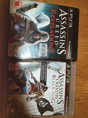 Ps3 Assassins Creed - Black Flag And Revelations • 3£