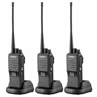 $ CDN81.57 • Buy SAMCOM FPEN10A 20 Channels 2 Way Radio With Group Function UHF Long Range Han...