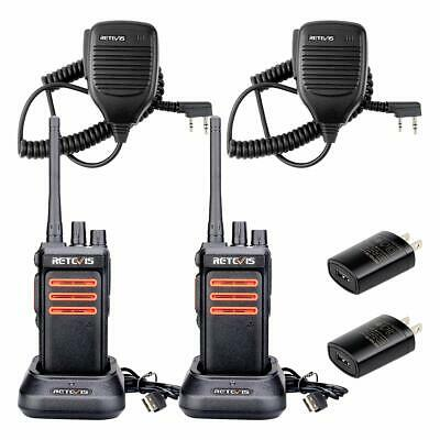$ CDN161.27 • Buy Retevis RT76 2 Way Radio Long Range GMRS Radios UHF 30 CH VOX Alarm Squelch C...