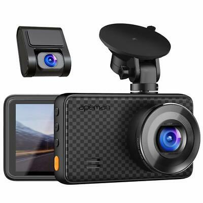 AU199.99 • Buy APEMAN 1440P&1080P Dual Dash Cam 1520P Max Front And Rear Camera For Cars Wit...