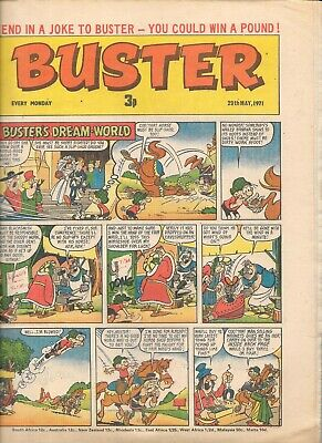 Vintage Buster Comic May 29th 1971 • 1.40£