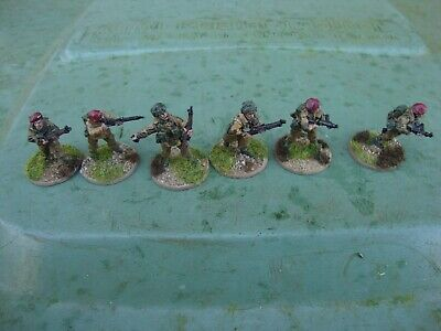 Ww2 28mm British Paratroop Infantry Section+ Officer - Pro Painted • 15.99£