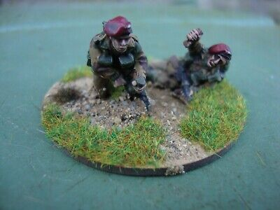 Bolt Action Ww2 28mm British Paratroop Infantry 2inch Mortar Team- Pro Painted • 5.99£