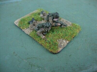 Bolt Action Ww2 28mm British Paratroop Piat Anti-tank Team - Pro Painted • 5.99£