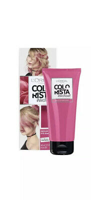 L'Oreal Colorista Hot Pink Neon Semi Permanent Temporary Washout Colour Hair Dye • 7.50£