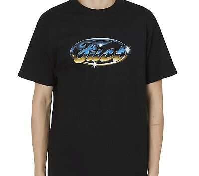 $ CDN52.60 • Buy Fuct Chrome Logo Shirt Black Ftp Fuckthepopulation Supreme Fcking Awesome