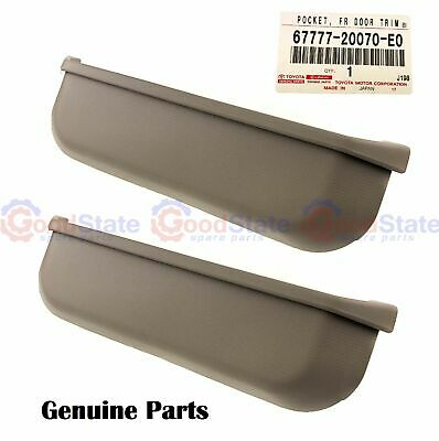 AU122.08 • Buy GENUINE Toyota LandCruiser VDJ76 VDJ78 VDJ79 Beige Door Trim Pocket Left Right