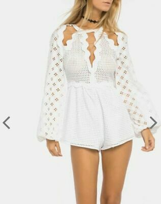 AU99.95 • Buy Alice McCall In The Night Play Suit Size 12 RRP $350