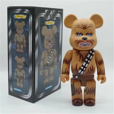$65.88 • Buy BE@RBRICK 400% Rare CHEWBACCA Star Wars Medicom BearBrick Limited Action Figure