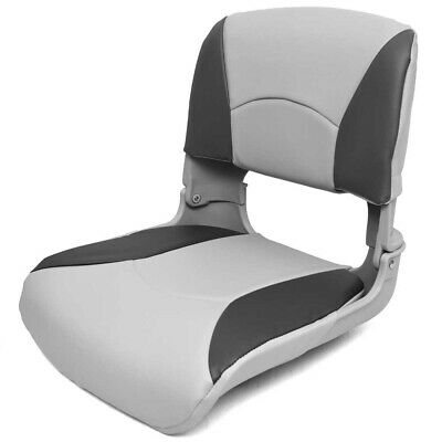 $ CDN145.95 • Buy Deluxe Boat Folding Seat 75113GC | All Weather Gray Charcoal
