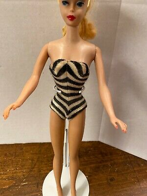 $ CDN41.02 • Buy Vintage Barbie PONYTAIL Doll W/ Swimsuit  Heavy Barbie Only Body