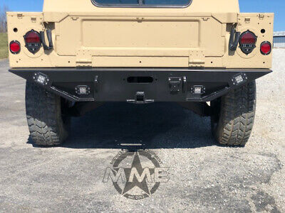 $1494.99 • Buy Rear Winch Step Bumper With Reverse/accessory Light For HMMWV/ Humvee M998 M1123