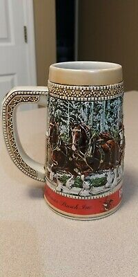 $ CDN93.99 • Buy 1987 Budweiser Collector C Series Stein Anheuser-Busch Beer Mug Cup, Clydesdales