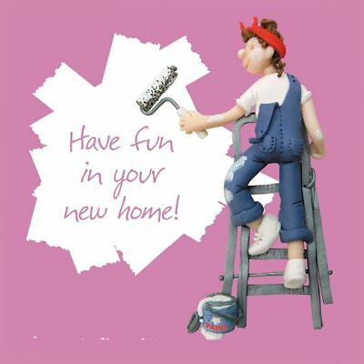 New Home Card - Female - New Home Pink - One Lump Or Two Quality NEW • 3.19£
