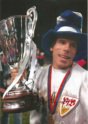 Gianfranco Zola Chelsea 10 X 8 Inch Hand Signed Authentic Football Photo SS074 • 20.99£