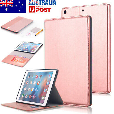 AU17.90 • Buy For IPad 6th/5th 9.7 IPad Pro 10.5 Card Wallet Leather Case Magnetic Stand Cover