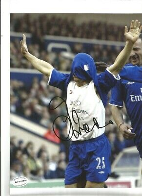 Gianfranco Zola Chelsea 10 X 8 Inch Hand Signed Authentic Football Photo SS074C • 20.99£