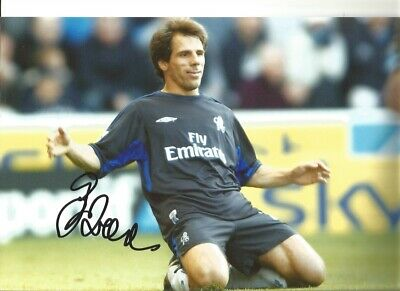 Gianfranco Zola Chelsea 12 X 8 Inch Hand Signed Authentic Football Photo SS074I • 20.99£