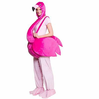 £49.99 • Buy Pink Flamingo Bird Outfit Fancy Dress Stag Hen Party Halloween Costume