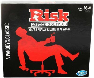 $19.99 • Buy 《NEW》Hasbro Risk Office Politics Board Game A Classic Adult Party Game