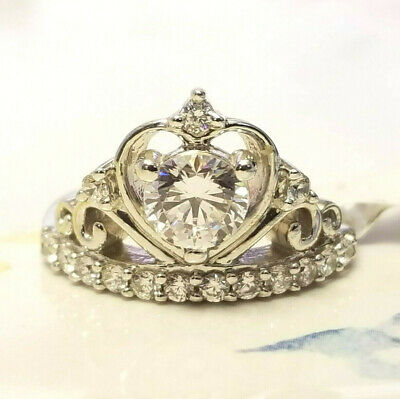 $19.99 • Buy NWT Charles Winston / Bella Luce 2.29ctw CZ Crown Sterling Silver Ring JTV  $70