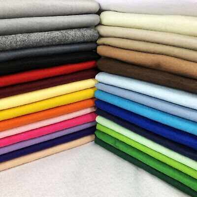 Acrylic Craft Felt Fabric Material Wool Blend Art Sewing Festive Decorations • 1.99£