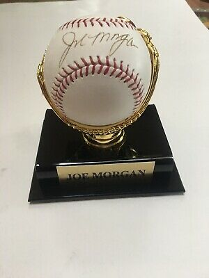 $ CDN46.31 • Buy Joe Morgan Autographed Baseball In Display Case