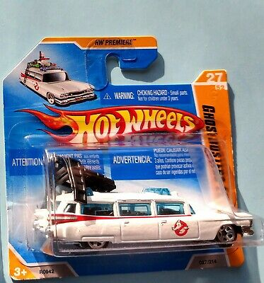 HOT WHEELS 2010 GHOSTBUSTERS Film ECTO-1 1959 Cadillac Short Card  • 9.99£