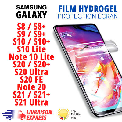 $ CDN5.52 • Buy Hydrogel Film Protection écran Pour Samsung Galaxy S8,S9,S10,S20,note10 Lite