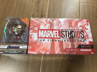 $ CDN189.92 • Buy NEW! Hot Toys Marvel STUD10S Mini Light Box + Mark 85 Landing Ver Cosbaby