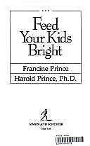 $ CDN5.54 • Buy Feed Your Kids Bright By Harold Smith Prince; Francine Prince