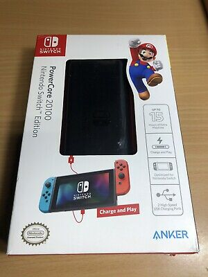AU108.39 • Buy Anker PowerCore 20,100 MAh Portable Charger For The Nintendo Switch And Mos...