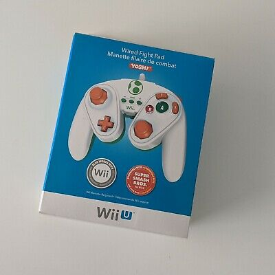AU59.90 • Buy Yoshi Edition Nintendo Wii U Wired Fight Pad GameCube Style Controller NEW