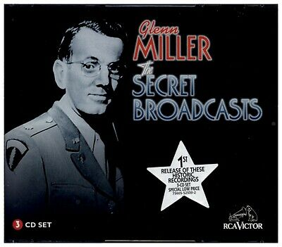 $14.99 • Buy GLENN MILLER Secret Broadcasts RCA VICTOR SEALED & NEW THREE DISC COMPACT DISC