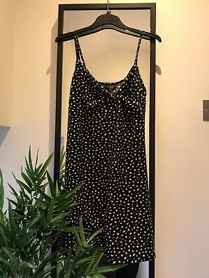 Topshop Front Knot Cami Dress Size 12 • 6£