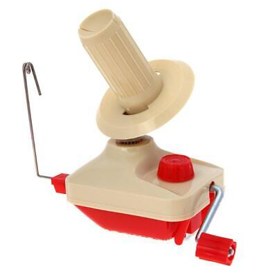 Swift Coiler For Yarn Fiber String Ball Wool Winder Holder Hand Operated Cable • 21.37£