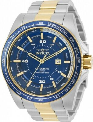 $ CDN182.53 • Buy Invicta 30521 Speedway Men's Automatic Gold-Tone Silver Stainless Steel Watch