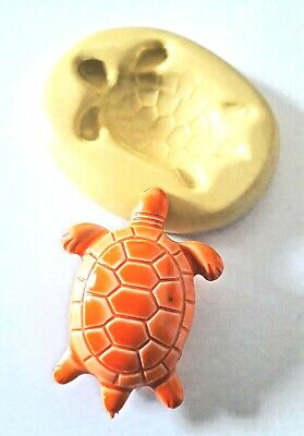 TORTOISE Silicone Mould 42 Mm FOOD SAFE Polymer Clay Jewellery • 6.90£