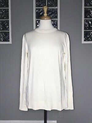$ CDN83.30 • Buy Lululemon Still At Ease Pullover 6 Angel Wing Nwt Open Back Long Sleeve Sweater
