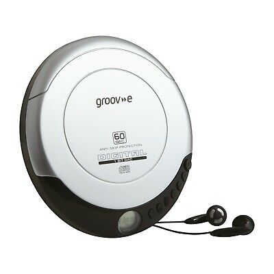 £24.99 • Buy Groove GV-PS110 Retro Series Personal CD Player - Silver