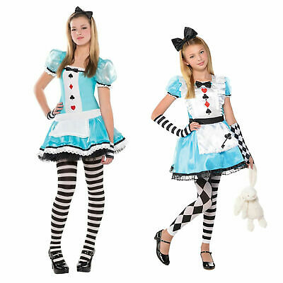 £10.99 • Buy Christys Dress Up Girls Clever Alice In Wonderland Outfit Fancy Dress Costume