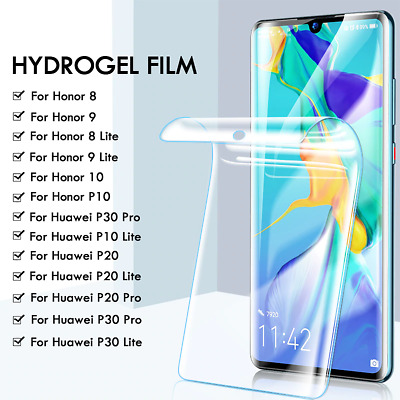 Screen Protector COVER For Huawei P30 40 Pro Mate 20 Pro Lite Hydrogel Film • 3.80£