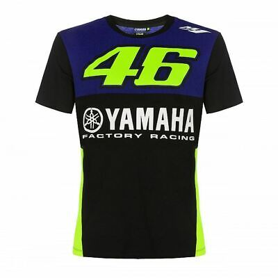 Valentino Rossi Yamaha T-Shirt VR46 MotoGP Factory Racing Team Official  • 28.99£