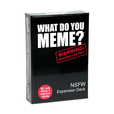 AU17.80 • Buy What Do You Meme? NSFW Expansion Deck