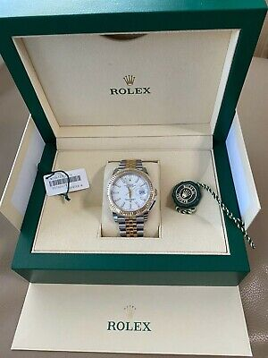 AU15995 • Buy Rolex Datejust 41mm Steel / Gold Combo With Fluted Bezel And Jubilee Bracelet