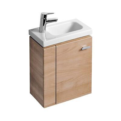 Ideal Standard Concept Space 450mm Wall Hung Guest Basin Sink Unit American OAK • 169.99£