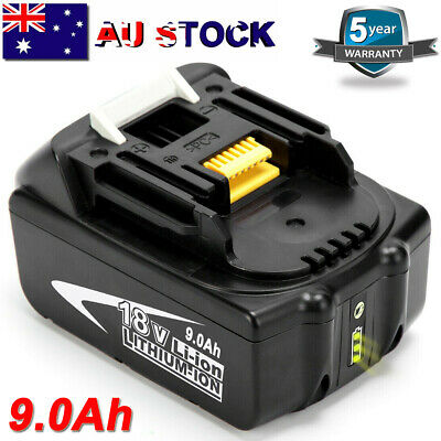 AU55.99 • Buy For Makita 9Ah 18V Lithium Battery BL1890B LXT BL1840 BL1860 BL1830 W/ LED Gauge